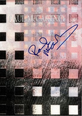 Tourbook - Paul McCartney World Tour #1
