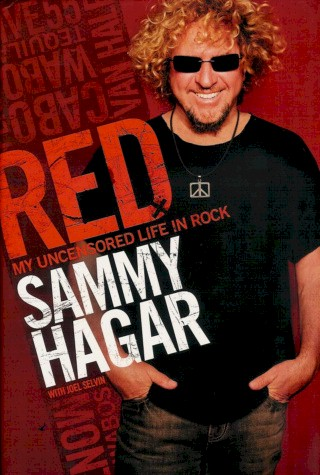 Sammy Hagar Book - Red #1a
