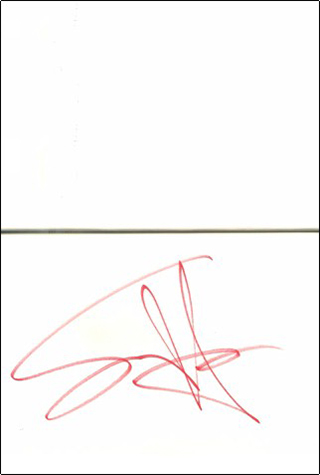 Sammy Hagar Book - Red #1b