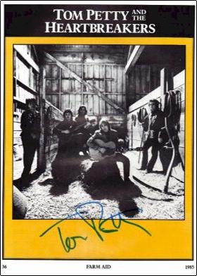 Tom Petty - Farm Aid Program Book #3
