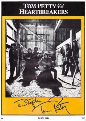 Tom Petty - Farm Aid Program Book #2