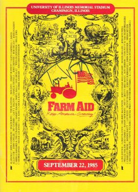 Tom Petty Farm Aid Program Book #1