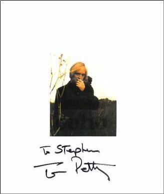 """Tom Petty """"ECHO"""" Tour Book"""