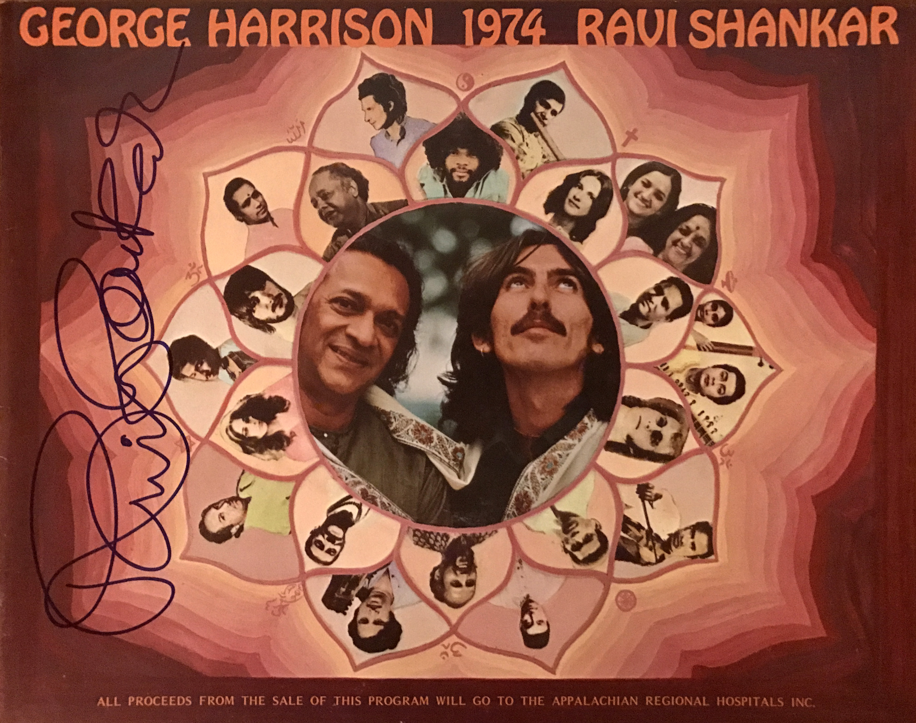 Tourbook - Ravi Shankar and George Harrison