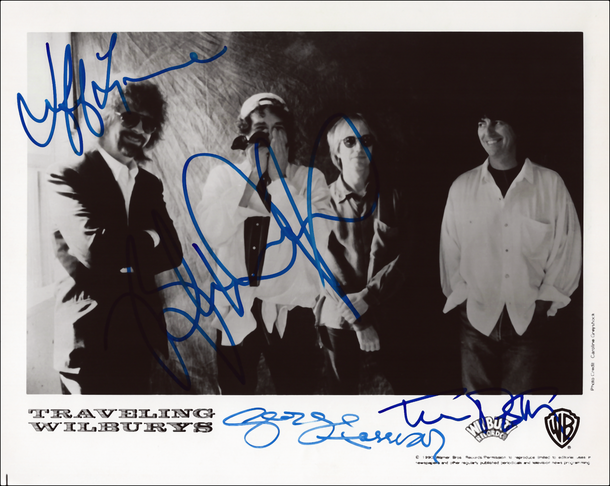 Photo - George Harrison - Traveling Wilburys