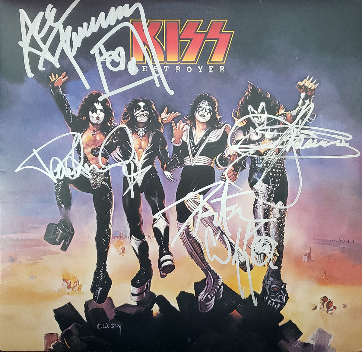 KISS - Destroyer LP