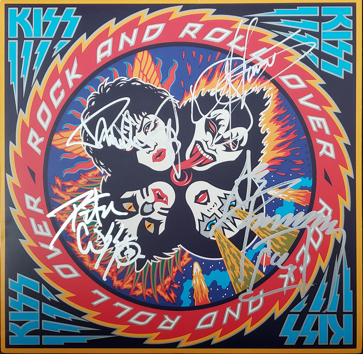 Image: Rock and Roll Over LP