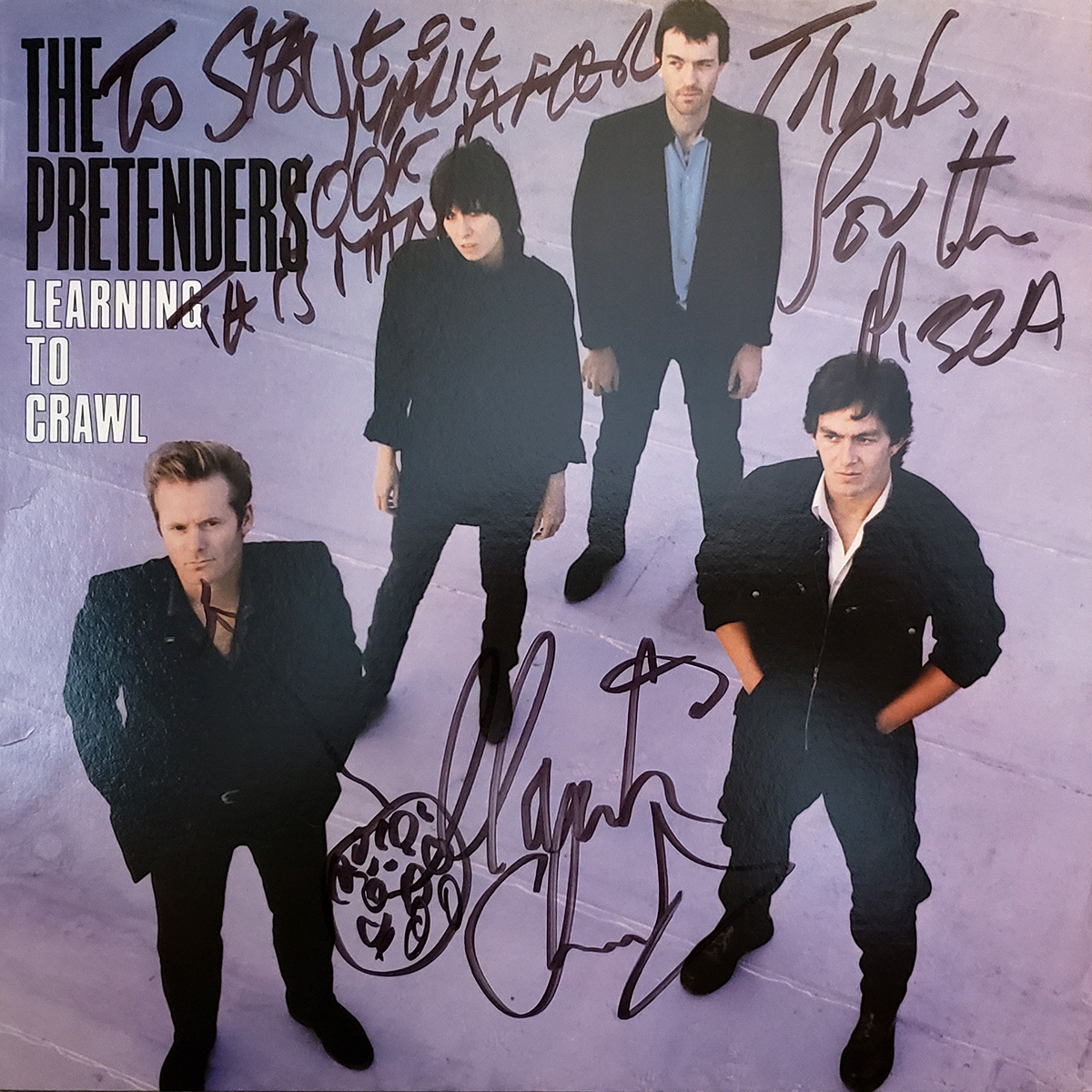 LP - Pretenders - Learning to Crawl